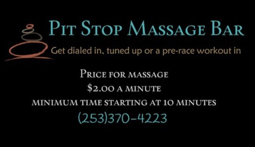Pit Stop Massage Bar